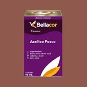 Tinta Acrílica Fosca Premium C74 Marrom Claro 16L Bellacor
