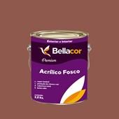 Tinta Acrílica Fosca Premium C74 Marrom Claro 3,2L Bellacor