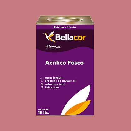 Tinta Acrílica Fosca Premium C75 Flamingo 16L Bellacor