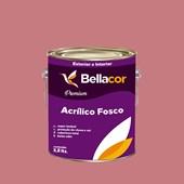 Tinta Acrílica Fosca Premium C75 Flamingo 3,2L Bellacor