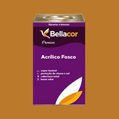 Tinta Acrílica Fosca Premium C76 Amarelo Ocre 16L Bellacor