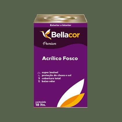 Tinta Acrílica Fosca Premium C79 Verde Musgo 16L Bellacor