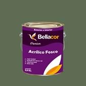 Tinta Acrílica Fosca Premium C80 Verde Real 3,2L Bellacor