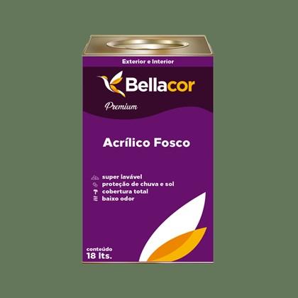 Tinta Acrílica Fosca Premium C81 Verde Hortelã 16L Bellacor