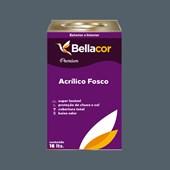 Tinta Acrílica Fosca Premium C82 Cinza Azulado 16L Bellacor