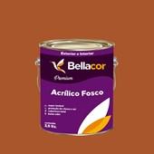 Tinta Acrílica Fosca Premium C85 Doce de Laranja 3,2L Bellacor