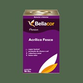 Tinta Acrílica Fosca Premium C92 Verde Folha 16L Bellacor