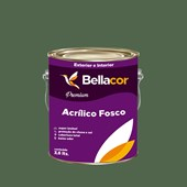 Tinta Acrílica Fosca Premium C92 Verde Folha 3,2L Bellacor