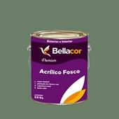 Tinta Acrílica Fosca Premium C93 Verde Botânico 3,2L Bellacor