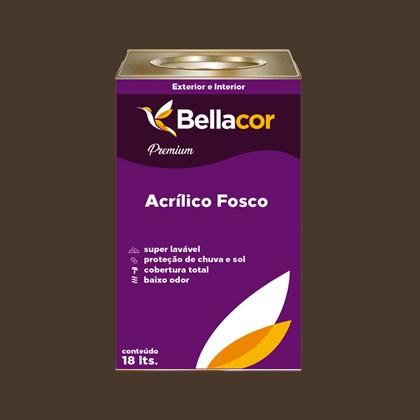 Tinta Acrílica Fosca Premium C97 Marrom Contemporâneo 16L Bellacor