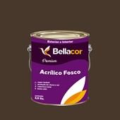 Tinta Acrílica Fosca Premium C97 Marrom Contemporâneo 3,2L Bellacor