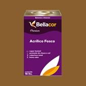 Tinta Acrílica Fosca Premium C99 Marrom Antigo 16L Bellacor