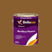 Tinta Acrílica Fosca Premium C99 Marrom Antigo 3,2L Bellacor