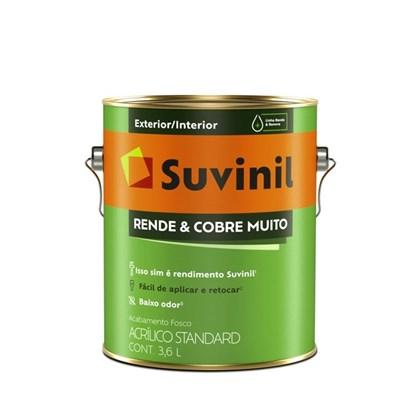 TINTA ACRÍLICA FOSCA RENDE E COBRE MUITO MARFIM - 3,6L SUVINIL