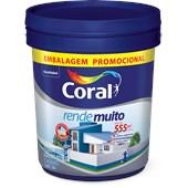 TINTA ACRÍLICA FOSCA RENDE MUITO BRANCO - 20L CORAL