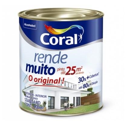 TINTA ACRÍLICA FOSCA RENDE MUITO GELO - 900ML CORAL