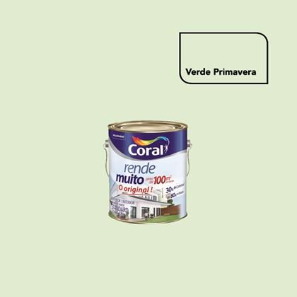 TINTA ACRÍLICA FOSCA RENDE MUITO PRIMAVERA - 3,6L CORAL