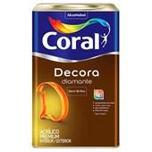 Tinta Acrílica Fosca Semi Brilho Decora Diamante 18L - Coral