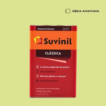 Tinta Acrílica Fosco Aveludado Clássica Alface Americana 16L Suvinil