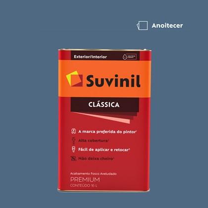 Tinta Acrílica Fosco Aveludado Clássica Anoitecer 16L Suvinil