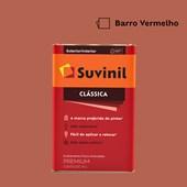 Tinta Acrílica Fosco Aveludado Clássica Barro Vermelho 16L Suvinil