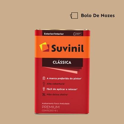 Tinta Acrílica Fosco Aveludado Clássica Bolo de Nozes 16L Suvinil