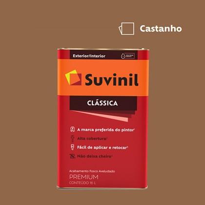 Tinta Acrílica Fosco Aveludado Clássica Castanho 16L Suvinil