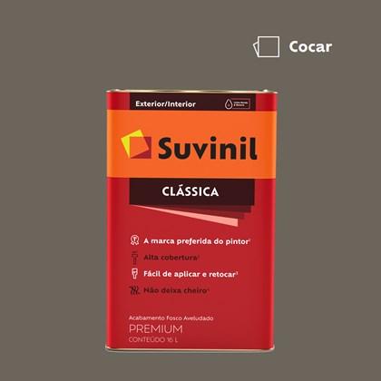 Tinta Acrílica Fosco Aveludado Clássica Cocar 16L Suvinil