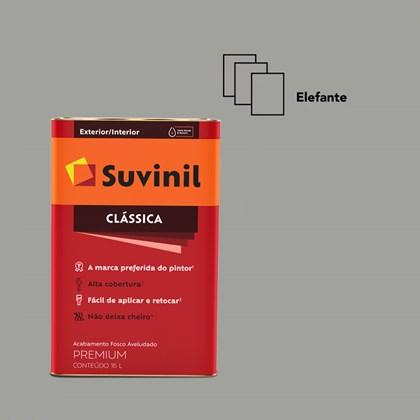 Tinta Acrílica Fosco Aveludado Clássica Elefante 16L Suvinil