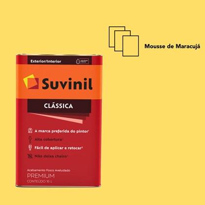 Tinta Acrílica Fosco Aveludado Clássica Mousse de Maracujá 16L Suvinil
