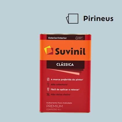 Tinta Acrílica Fosco Aveludado Clássica Pirineus 16L Suvinil