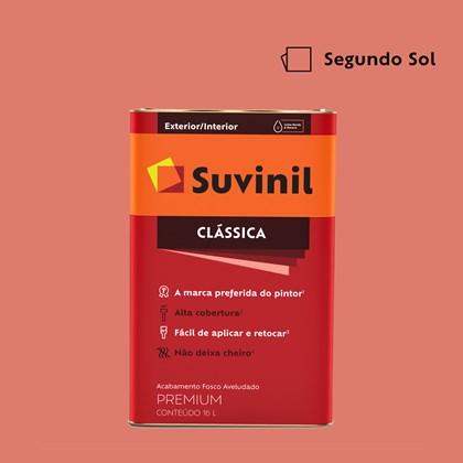 Tinta Acrílica Fosco Aveludado Clássica Segundo Sol 16L Suvinil