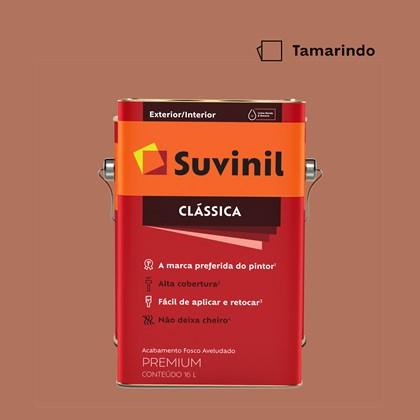 Tinta Acrílica Fosco Aveludado Clássica Tamarindo 16L Suvinil