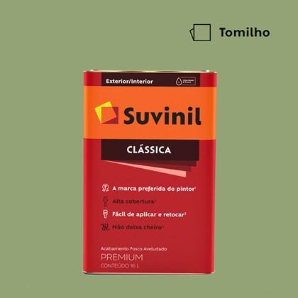 Tinta Acrílica Fosco Aveludado Clássica Tomilho 16L Suvinil