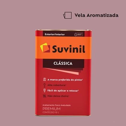 Tinta Acrílica Fosco Aveludado Clássica Vela Aromatizada 16L Suvinil
