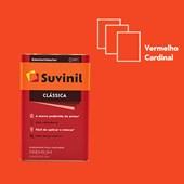 Tinta Acrílica Fosco Aveludado Clássica Vermelho Cardinal 18L Suvinil