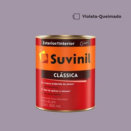 Tinta Acrílica Fosco Aveludado Clássica Violeta Queimado 800ml Suvinil