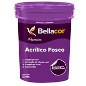 Tinta Acrílica Fosco Branco Premium 20L - Bellacor