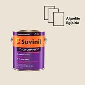 TINTA ACRÍLICA FOSCO COMPLETO ALGODÃO EGÍPCIO - 3,6L SUVINIL