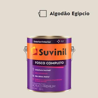 Tinta Acrílica Fosco Completo Algodão Egípicio 3,6L Suvinil
