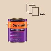 TINTA ACRÍLICA FOSCO COMPLETO AREIA - 3,6L SUVINIL