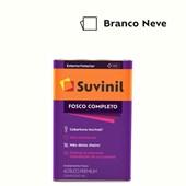 TINTA ACRÍLICA FOSCO COMPLETO BRANCO NEVE - 18L SUVINIL