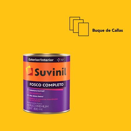 Tinta Acrílica Fosco Completo Buque de Callas 800ml Suvinil