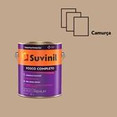 TINTA ACRÍLICA FOSCO COMPLETO CAMURÇA - 3,6L SUVINIL