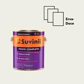 TINTA ACRÍLICA FOSCO COMPLETO ERVA DOCE - 3,6L SUVINIL