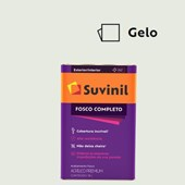 TINTA ACRÍLICA FOSCO COMPLETO GELO - 18L SUVINIL