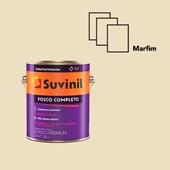 TINTA ACRÍLICA FOSCO COMPLETO MARFIM - 3,6L SUVINIL