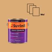 TINTA ACRÍLICA FOSCO COMPLETO MEL - 3,6L SUVINIL