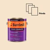 TINTA ACRÍLICA FOSCO COMPLETO PÉROLA - 3,6L SUVINIL
