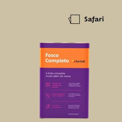 Tinta Acrílica Fosco Completo Safari 18L Suvinil